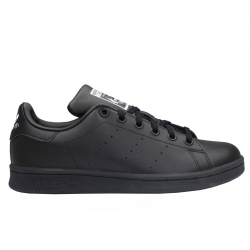 ADIDAS STAN SMITH J ORIGINALS M20604 BLACK/BLACK/FTWWHT