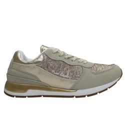 pierre cardin sneakers pc62907-beige-gold