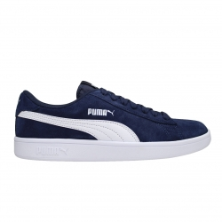 SNEAKERS PUMA SMASH V2 SD JR 365176/02 PEACOAT-PUMA/WHITE