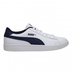 SNEAKERS PUMA SMASH V2 L JR 365170 04 PUMA WHITE-PEACOAT