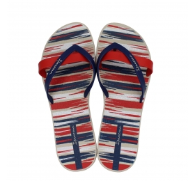 IPANEMA KIREI SILK IV FEM BEIGE/BLUE/RED 780-19345-26-2