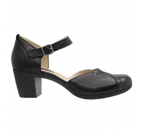 SMART STEPS LEATHER COLLECTION 1103-BLACK