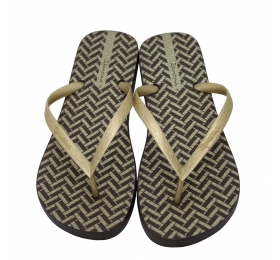 ΣΑΓΙΟΝΑΡΕΣ IPANEMA TROPICAL VIII FEM 780-19346-26-3 BROWN/GOLD