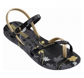 IPANEMA FASHION SAND VI F BLACK/BLCK/GOLD 780-19338-29-1