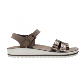 SUNNY SANDALS MARIA-002 P-TAOUPE-B-TAUPE