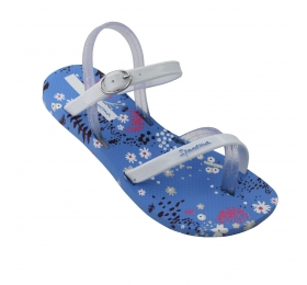 IPANEMA FASHION SAND VI KIDS BLUE/WHITE 780-19389-37-2
