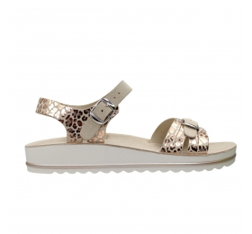 SUNNY SANDALS MARIA 001 P- CARNE-A.RAME