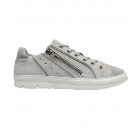 SNEAKERS SMART STEPS LEATHER COLLECTION 1309-GREY