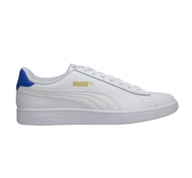 SNEAKERS PUMA SMASH V2 L 36521518 WHITE/BLUE/GOLD
