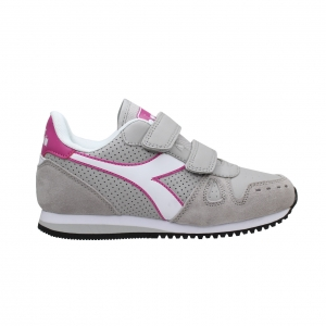 ΑΘΛΗΤΙΚΑ ΠΑΙΔΙΚΑ DIADORA SIMPLE RUN UN PS 101.17508101C8217 ASH/ROSE/VIOLET